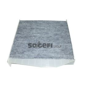 Filter, Innenraumluft Länge: 280mm, Breite: 241mm, Höhe: 48mm mit OEM-Nummer 9171757