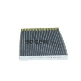 PURFLUX  AHC340 Filter, Innenraumluft Länge: 265mm, Breite: 191mm, Höhe: 19mm