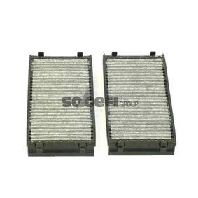 PURFLUX  AHC349-2 Filter, Innenraumluft Länge: 293mm, Breite: 145mm, Höhe: 34mm