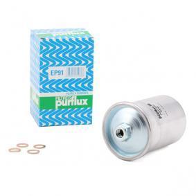 PURFLUX Kraftstofffilter EP91 für AUDI 80 Avant (8C, B4) 2.0 E 16V ab Baujahr 02.1993, 140 PS
