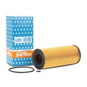 PURFLUX Ölfilter L291 für AUDI A4 (8E2, B6) 1.9 TDI ab Baujahr 11.2000, 130 PS