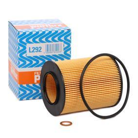PURFLUX  L292 Ölfilter Ø: 82mm, Innendurchmesser: 42mm, Höhe: 104mm