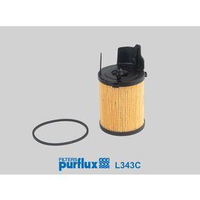 Oil Filter L343C FIESTA 6 1.6 TDCi MY 2013