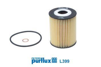 PURFLUX  L399 Ölfilter Ø: 63mm, Innendurchmesser: 25mm, Höhe: 83mm