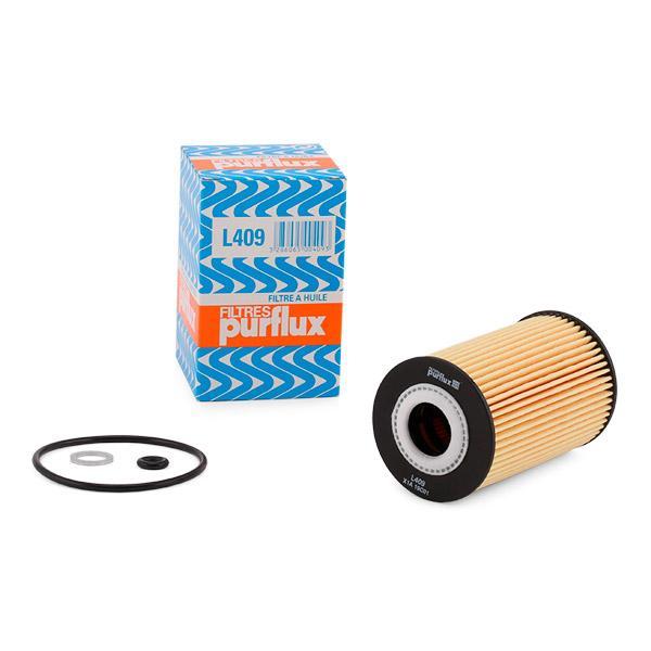 Oil Filter PURFLUX L409 expert knowledge