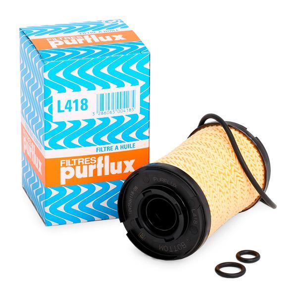 Filtre d'huile PURFLUX L418 connaissances d'experts