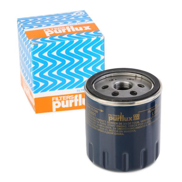 PURFLUX  LS801 Ölfilter Ø: 76mm, Höhe: 85mm