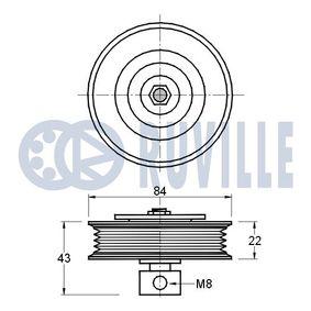 RUVILLE Koppelstange 915783 für AUDI A6 (4B2, C5) 2.4 ab Baujahr 07.1998, 136 PS