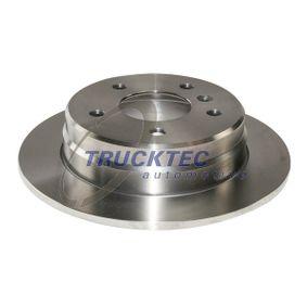 TRUCKTEC AUTOMOTIVE  02.35.226 Bremsscheibe Bremsscheibendicke: 8mm, Lochanzahl: 5, Ø: 258mm