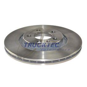 Bremsscheibe Bremsscheibendicke: 22mm, Lochanzahl: 5, Ø: 280mm mit OEM-Nummer 1J0 615 301M