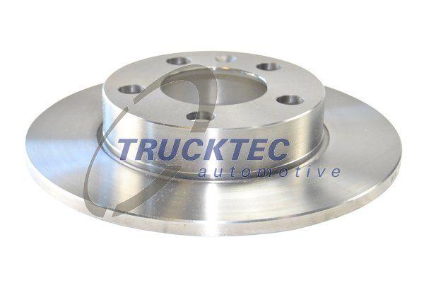 TRUCKTEC AUTOMOTIVE  07.35.059 Bremsscheibe Bremsscheibendicke: 9mm, Lochanzahl: 5, Ø: 232mm