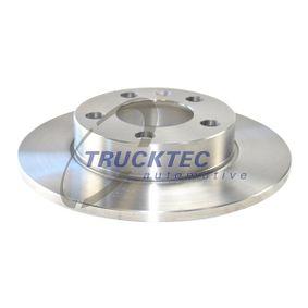 Bremsscheibe Bremsscheibendicke: 9mm, Lochanzahl: 5, Ø: 232mm mit OEM-Nummer 1J0-615-601