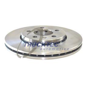 Bremsscheibe Bremsscheibendicke: 22mm, Lochanzahl: 5, Ø: 256mm mit OEM-Nummer 1J0.615.301L