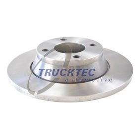 Bremsscheibe Bremsscheibendicke: 13mm, Lochanzahl: 4, Ø: 280mm mit OEM-Nummer 8A0615301
