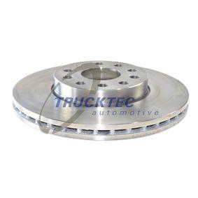 Bremsscheibe Bremsscheibendicke: 25mm, Lochanzahl: 5, Ø: 288mm mit OEM-Nummer JZW 615 301 J