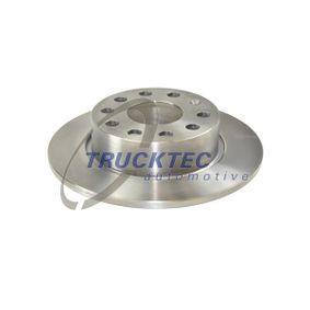 Bremsscheibe Bremsscheibendicke: 10mm, Lochanzahl: 5, Ø: 253mm mit OEM-Nummer 5C0615601