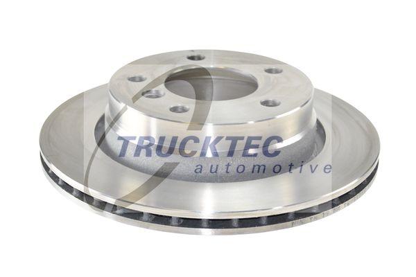 TRUCKTEC AUTOMOTIVE  08.34.045 Bremsscheibe Bremsscheibendicke: 19mm, Lochanzahl: 5, Ø: 276mm