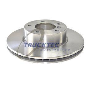 TRUCKTEC AUTOMOTIVE  08.34.074 Bremsscheibe Bremsscheibendicke: 24mm, Lochanzahl: 5, Ø: 300mm