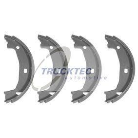 Brake Shoe Set, parking brake Ø: 161mm, Ø: 161mm with OEM Number 34416761291