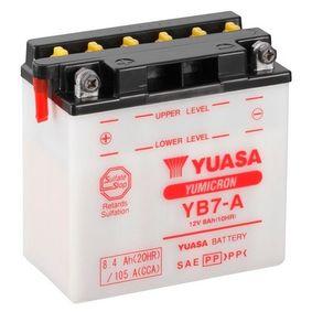 YUASA Nutzfahrzeugbatterien N , 100 Ah , 12 V , D2 , 600 A , mit Handgriffen, mit Ladezustandsanzeige