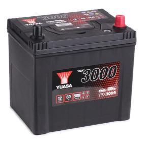 YUASA YBX3000 YBX3005 Starterbatterie Polanordnung: 0