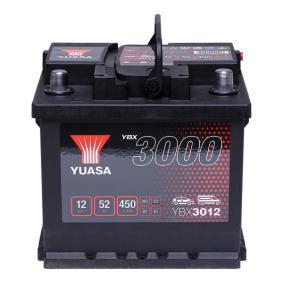 YUASA YBX3000 YBX3012 Starterbatterie Polanordnung: 0