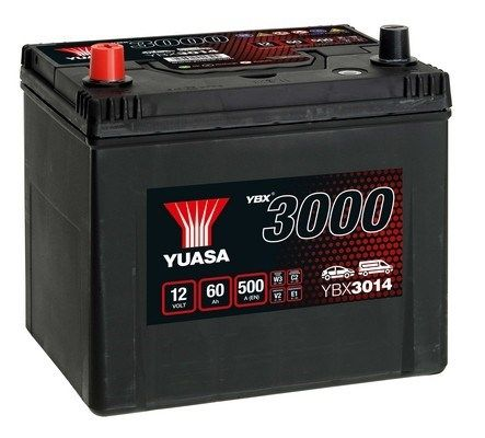 YUASA YBX3000 YBX3014 Starterbatterie