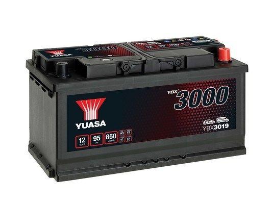 YUASA YBX3000 YBX3019 Starterbatterie