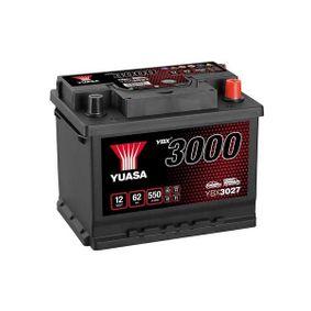 Starterbatterie YBX3027 TOURAN (1T1, 1T2) 2.0 EcoFuel Bj 2007
