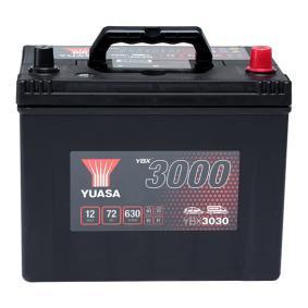 YUASA YBX3000 YBX3030 Starterbatterie Polanordnung: 0