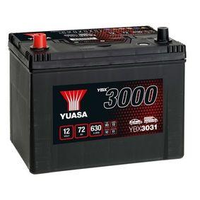 YUASA YBX3000 YBX3031 Starterbatterie Polanordnung: 1