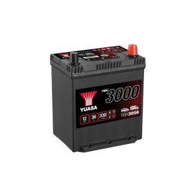 YUASA YBX3000 YBX3056 Starterbatterie Polanordnung: 0