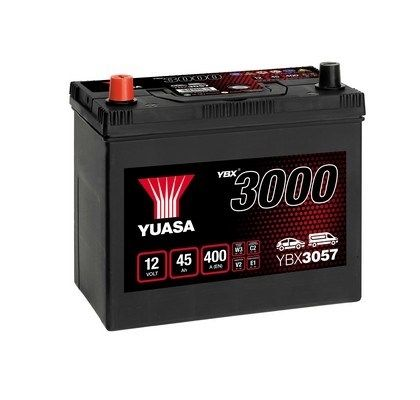 YUASA YBX3000 YBX3057 Starterbatterie