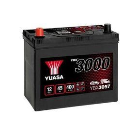 YUASA YBX3000 YBX3057 Starterbatterie Polanordnung: 1