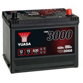 YUASA YBX3000 YBX3068 Starterbatterie Polanordnung: 0