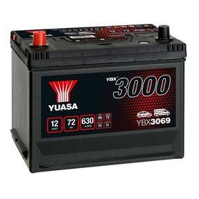 YUASA YBX3000 YBX3069 Starterbatterie Polanordnung: 1