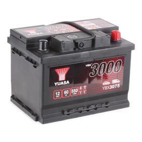 YUASA YBX3000 YBX3075 Starterbatterie Polanordnung: 0