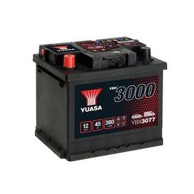 YUASA YBX3000 YBX3077 Starterbatterie Polanordnung: 1