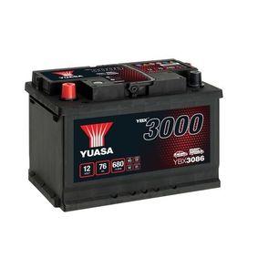 YUASA YBX3000 YBX3086 Starterbatterie Polanordnung: 1