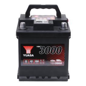 YUASA YBX3000 YBX3202 Starterbatterie Polanordnung: 0