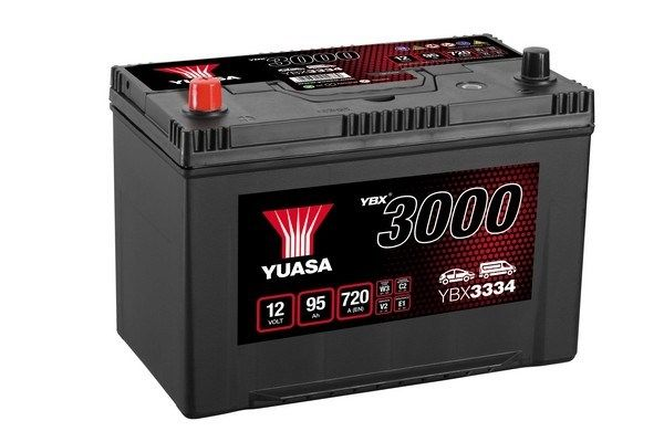 YUASA YBX3000 YBX3334 Starterbatterie