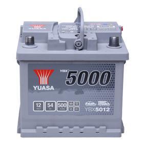 Starterbatterie YBX5012 TOURAN (1T1, 1T2) 1.4 FSI Bj 2009
