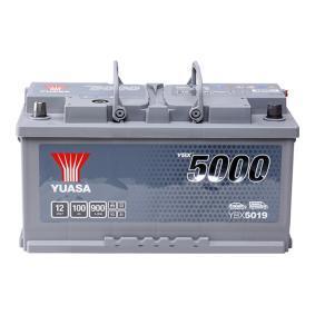YUASA YBX5000 YBX5019 Starterbatterie Polanordnung: 0
