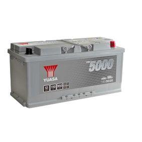 YUASA Nutzfahrzeugbatterien B3 , 110 Ah , 12 V , L5 , 950 A , Bleiakkumulator, mit Handgriffen, mit Ladezustandsanzeige