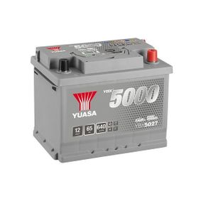 YUASA YBX5000 YBX5027 Starterbatterie Polanordnung: 0
