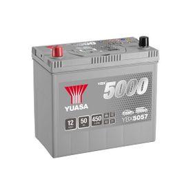 YUASA YBX5000 YBX5057 Starterbatterie Polanordnung: 1