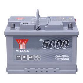 Starterbatterie YBX5096 TOURAN (1T1, 1T2) 2.0 TDI Bj 2008