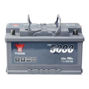 Starterbatterie YBX5110 TOURAN (1T1, 1T2) 1.9 TDI Bj 2009