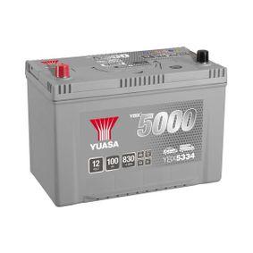 YUASA YBX5000 YBX5334 Starterbatterie Polanordnung: 1