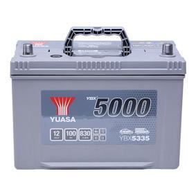 YUASA YBX5000 YBX5335 Starterbatterie Polanordnung: 0